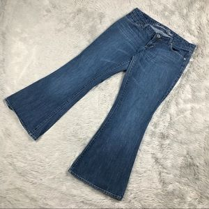American Eagle Women's Denim Jeans Real Flare